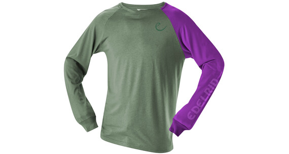 Edelrid Kamikaze LS Shirt Men basil green